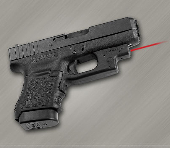 Crimson Trace LG-436 Laser Grip Glock 19 26