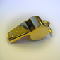 <b>Hamburger Woolen</b><br/> Gold-Plated Brass Whistle