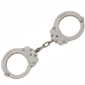 <b>Peerless</b><br/> Model 700 Nickel Chain Link Handcuff