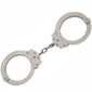 <b>Peerless</b><br/> Model 7030 Oversized Nickel Chain Link Handcuff