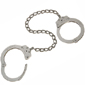 <b>Peerless</b><br/> Model 703 Nickel Chain Link Leg Iron