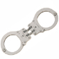 <b>Peerless</b><br/> Model 801 Nickel Hinge Handcuff