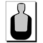 <b>Speedwell</b><br/>TQ19 Police Silhouette NRA Instructor Course Target (Pkg. of 100)