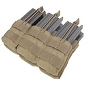<b>Condor Outdoor</b><br/>Triple Stacker M4 Mag Pouch