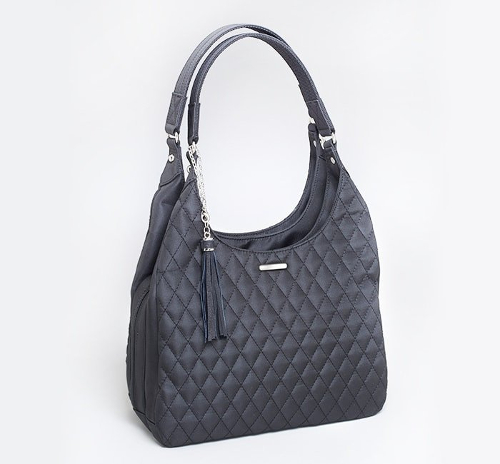 <b>Gun Tote'n Mamas</b><br/>Quilted Microfiber Slouch Bag