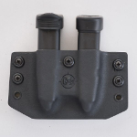 <b>C&G Holsters</b><br/>OWB Double Slim Mag Holder
