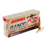 <b>Barnes</b><br>Range AR Rifle Ammunition