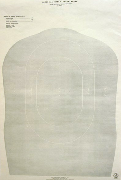 <b>Speedwell</b><br/>TQ11 Reduced Police Silhouette Target