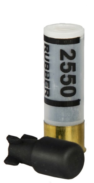 <b>CTS</b><br/>12 ga. Single Rubber Baton Projectile