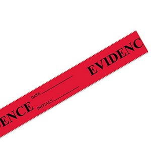 <b>Forensics Source</b><br/>Evidence Tape with Date & Initals (Roll)