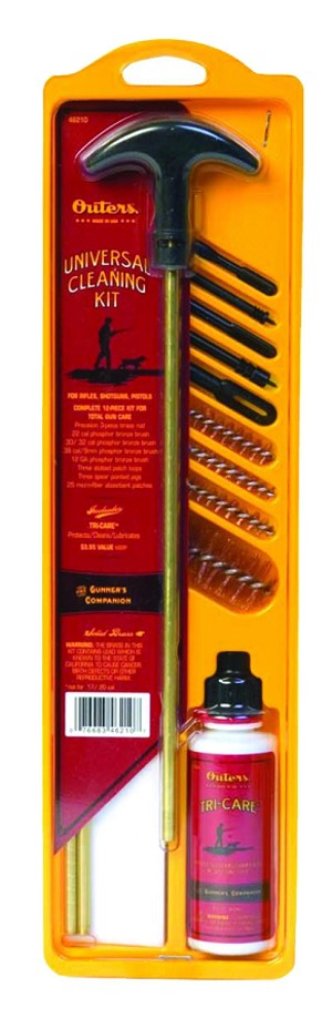 <b>Outers</b><br/>Firearm Cleaning Kit