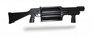 <b>Penn Arms</b><br/>Pump Mult-Shot 37mm Launcher, Fixed Stock