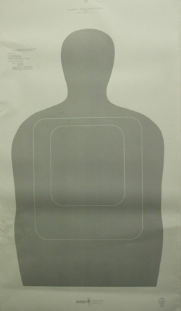 <b>Speedwell</b><br/>TQ15 Police Silhouette NRA Instructor Course Target (Pkg. of 100)
